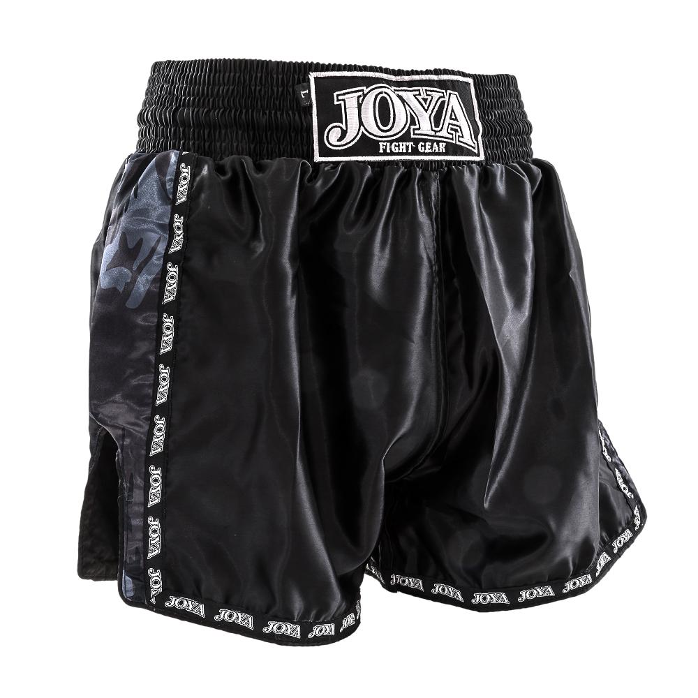 Joya kickboksbroek camo zwart