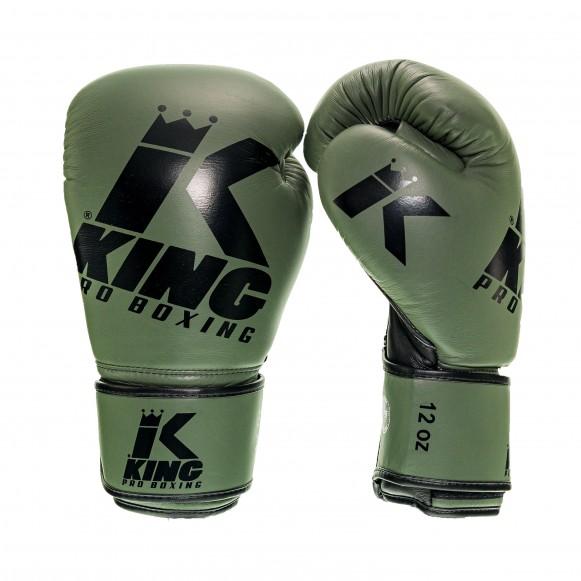 King bokshandschoenen platinum 3 groen
