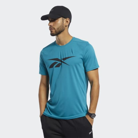 Reebok workout shirt groen