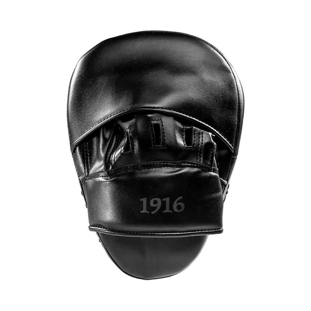 1916 Hybrid Kunstleer Pads Zwart